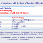 Trusted Health Websites: HONcode Recertified